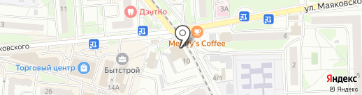 Кредит Маркет на карте Железнодорожного