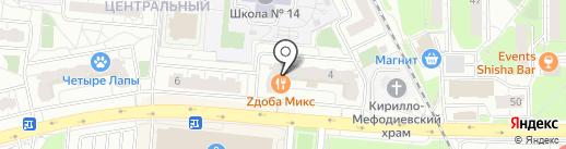 Мастерская по ремонту одежды и обуви на карте Балашихи