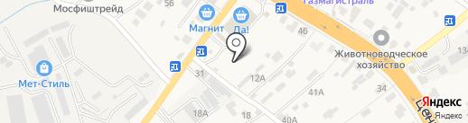 Магазин инструментов на Центральной на карте Островцев