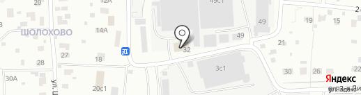 Меткровати на карте Щёлково