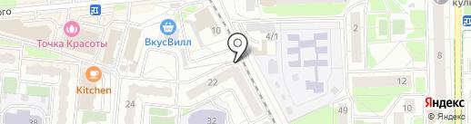 Степашка на карте Балашихи
