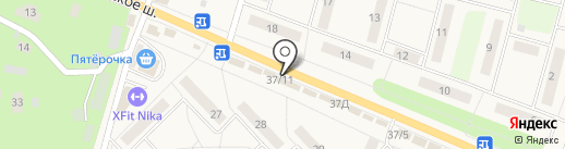 Burger club на карте Малаховки