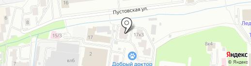 Веста, ГК на карте Щёлково