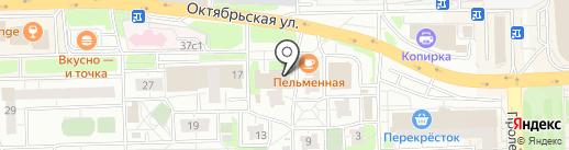 Общественно-политический центр на карте Балашихи