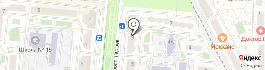 Рупперт на карте Балашихи