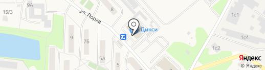 Дикси на карте Красково