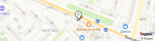 Магазин одежды на карте Малаховки