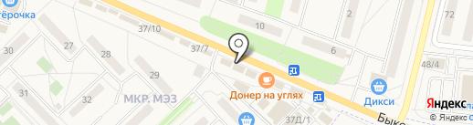 ТРИУМП БИРИНГ на карте Малаховки