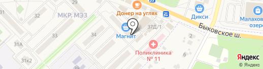 Союзпечать на карте Малаховки