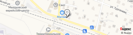 Интрига на карте Малаховки