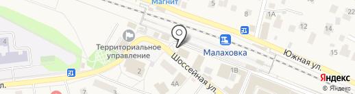 Малаховский вестник на карте Малаховки