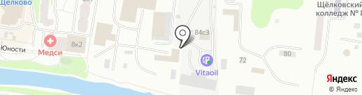 СиМ-Электрод на карте Щёлково