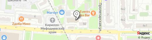 Мой город Железнодорожный на карте Железнодорожного