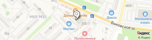 1000 Мелочей на карте Малаховки