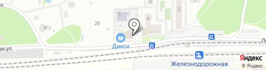 Магазин нижнего белья на Кооперативной на карте Железнодорожного