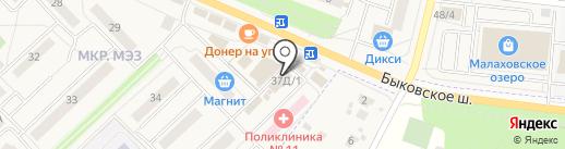 Евросеть на карте Малаховки