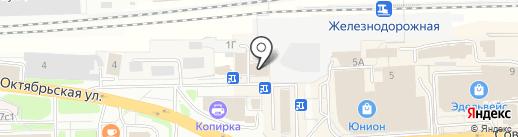 5lb на карте Железнодорожного