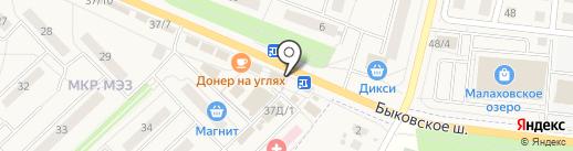 Цветочный магазин на карте Малаховки