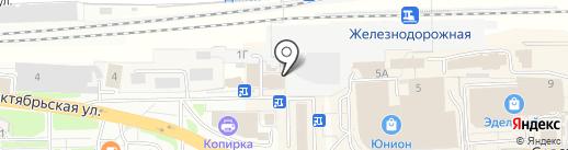 Добрый хлеб на карте Балашихи
