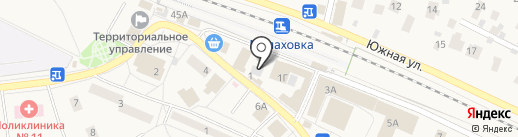 Экспресс-Охрана на карте Малаховки