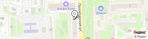 Remonte на карте Балашихи