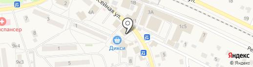 Экономстрой на карте Малаховки