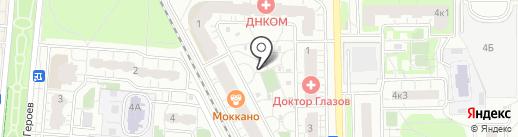 Триумф Градъ на карте Железнодорожного
