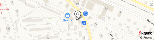 Глен и кен на карте Малаховки