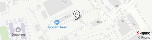 БИЗЕНС на карте Балашихи