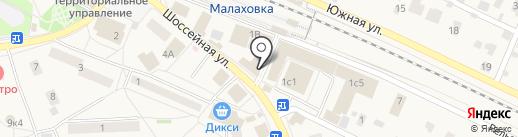 МТС на карте Малаховки