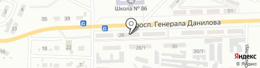 София на карте Макеевки
