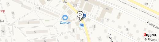 Первая полоса на карте Малаховки