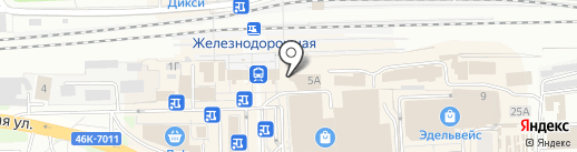 Бургерология на карте Балашихи