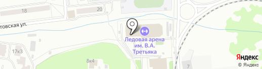 Ледовая арена на карте Щёлково