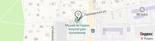 Музей истории и культуры поселка Малаховка на карте Малаховки