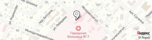 Медицинская лучевая диагностика на карте Макеевки