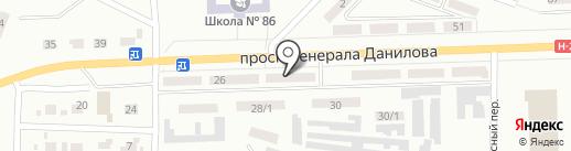 D`Lor на карте Макеевки