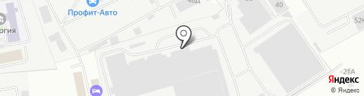 Стартакс на карте Балашихи