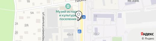 Пожарная часть №231 на карте Малаховки