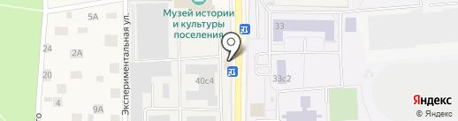 Торгово-монтажная компания на карте Малаховки
