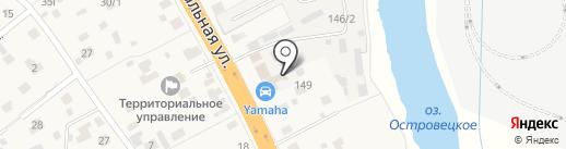 СТМ на карте Островцев
