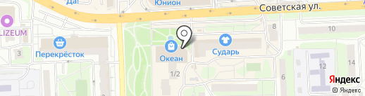 Кекс на карте Балашихи
