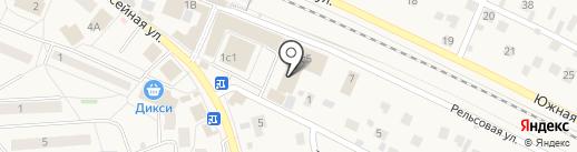 Магазин смешанных товаров на карте Малаховки