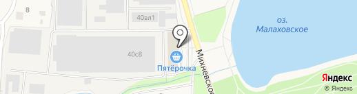 New-mirror.ru на карте Малаховки