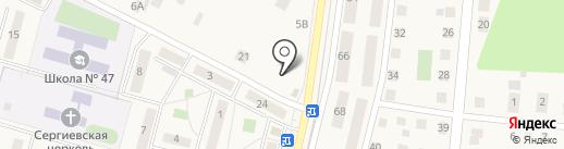 Кристалл-Лефортово на карте Малаховки