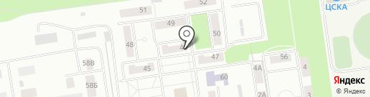 Магазин хлебобулочных изделий на карте Балашихи