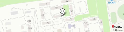 Амивет на карте Балашихи