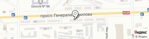 Форсаж на карте Макеевки