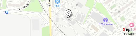 АвтоКомиссионер на карте Железнодорожного