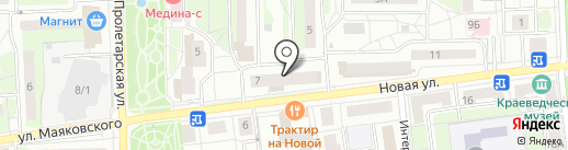 Континенталь Холдинг на карте Железнодорожного